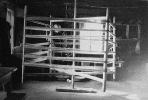 Käärpuud, nimetati ka püür, Haanja vald, Villa küla foto: U.Rips 1953 Raamatust Kudumid K.Konsin 1979
