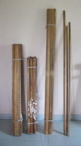 vasakult: vaheldajad, tallalauad, niiekepid, vahelikukepid