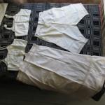 ihnused, püksid ja särk