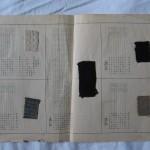 Mustrileht Luise Rebenitzi 1898 aastal kirjutatud raamatust Õpetuse raamat käsitöökoolidele ja iseõppimiseks